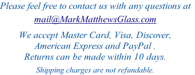 Please feel free to contact us with any questions at